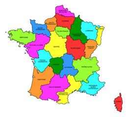 FRANCE - régions