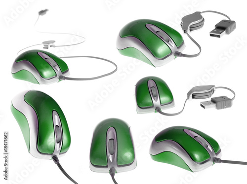 USB mouse - mega set
