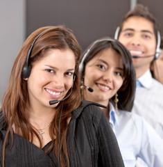 customer services representative team
