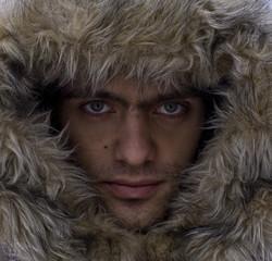 face in fur