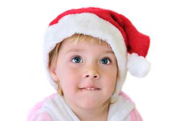 little Santa girl