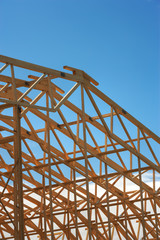 Wooden Roof Frame
