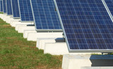 new solar array install poster