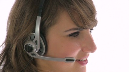 Helpdesk woman