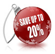 Save 20% bauble