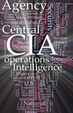 CIA Central Intelligence Agency glowing poster