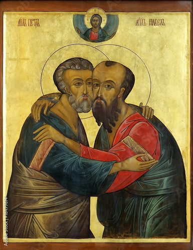 icon of Apostles Peter and Paul - 18499614