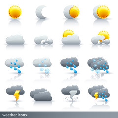 Weather Vector Icon Set - Meteorology