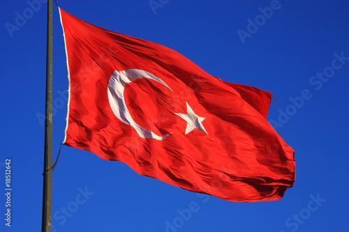 Turkish Flag Poster