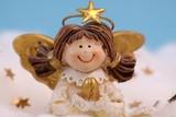 süßes Engelchen zum Fest poster