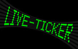 lcd-text live-ticker poster