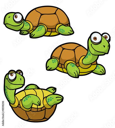 Fotobehang Sweet Monsters Turtle