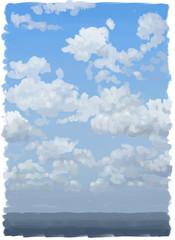 nubi dipinte