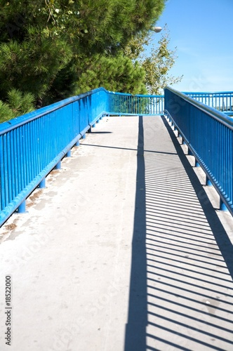 footbridge in madrid