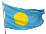 Palau National Flag poster