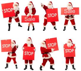 stop santa end