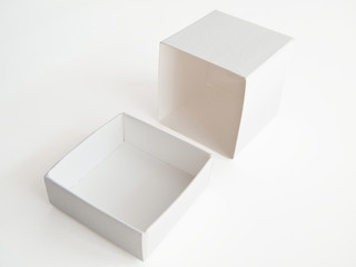 Empty white box