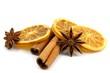 orange,  cinnamon and anise
