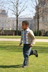 Promenade dans le jardin des Tuileries - Paris