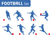 Football game - joueur style de figure - Set