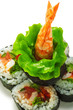 Vegetables and Shrimp Roll