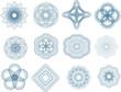 Guilloche elements - 18540887