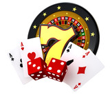 Casino 3D Illustration White