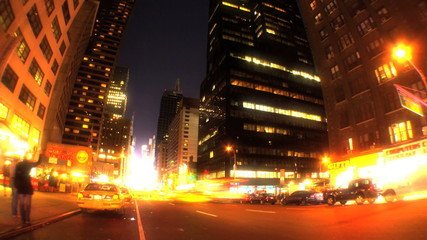 Broadway, New York T/Lapse