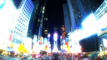 Times Square USA T/Lapse
