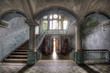 Leinwanddruck Bild - Beelitzer Säulengewölbe