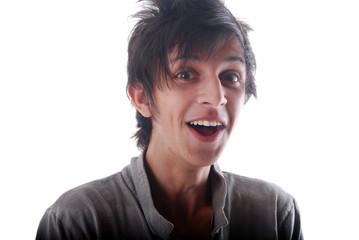 Expression du visage - Adolescent surpris