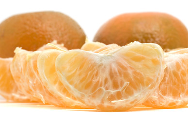 Clementine whith segments