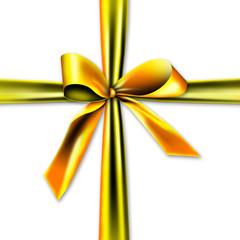 Schöne, goldene Geschenkverpackung