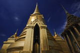 Thailabd, Bangkok, Imperial Palace, Golden Dome temple poster