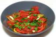 piatto peperoni grigliati
