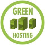 Green hosting poster