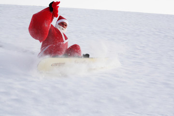 Santa go down