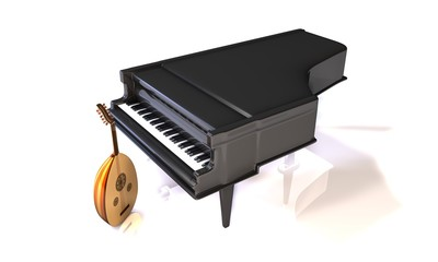 Piano et luth