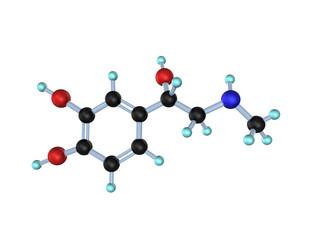 Molecule Adrenaline 3D