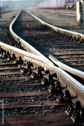 Gleise Zugverkehr