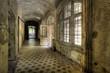 Flur im Krankenhaus Beelitz