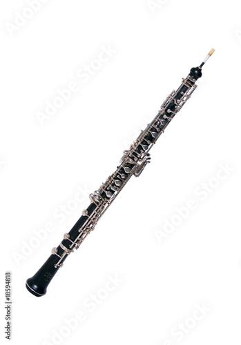 Leinwandbild Motiv Oboe