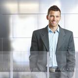 Fototapety Confident businessman