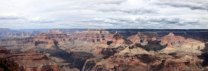 panorama du grand canyon