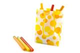 Speckles felt-pen bag poster