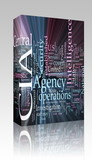 CIA Central Intelligence Agency glowing box package poster