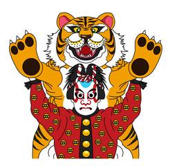 歌舞伎ー国性爺合戦のキャラクター