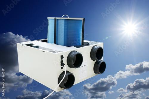 échangeur d'air - 18602871