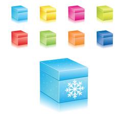 Christmas Icons Set . vector