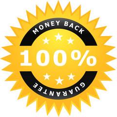 Sticker Money Back